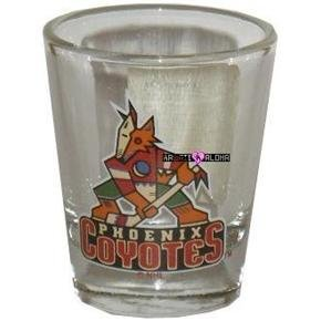 Phoenix Coyotes Hockey Shot Glass Schnapps Glasses