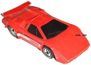 hot wheels diecast collector lamborghini countach red 1987. Black Bedroom Furniture Sets. Home Design Ideas