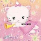 Kawaii Angel Akia Neko Kitty Cat Memos Notes Mini Pad Korea