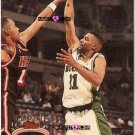 Topps Stadium Club Lee Mayberry Basketball Rookie Card 1993