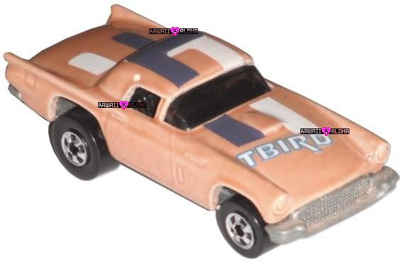 Hot Wheels Diecast '57 T-Bird Thunderbird 1977 Mattel