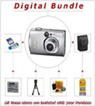 NEW CANON POWERSHOT SD800 IS DIGITAL CAMERA BUNDLE
