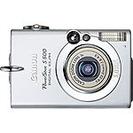 NEW CANON POWERSHOT SD500 DIGITAL CAMERA