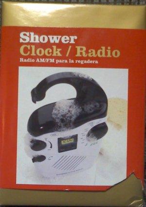 Shower Clock Radio