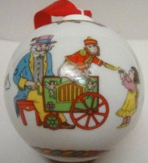 Hutschenreuther Ornaments Children's Choir Porcelain Ball 2001