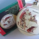 Hallmark 1991 Vintage Glass Ornament Norman Rockwell