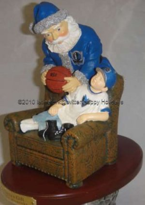 Santa's Gift Dallas Mavericks 2001 NBA 2nd Limited  Series