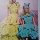 L@@K! *RUFFLES DOLL DRESSES* - NEW CROCHET PATTERN