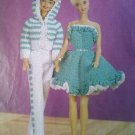 L@@K! *SNAPPY PANTSUIT & RUFFLED DOLL DRESS*- PATTERN