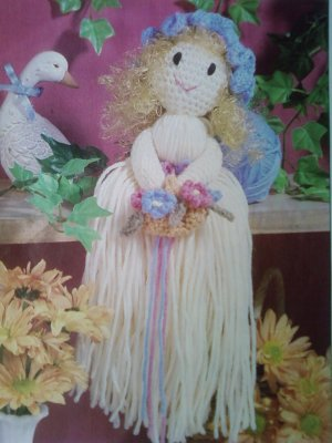 L@@K! *ADORABLE MISSY MOP DOLL* - NEW CROCHET PATTERN