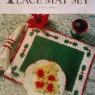 L@@K! *HOLLY BERRY PLACE MAT SET* - NEW CROCHET PATTERN