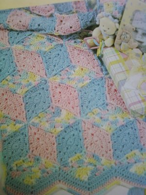 Easy baby blanket crochet pattern. - Crafts - Free Craft Patterns