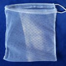 L@@K! NYLON MESH STRAINING BREW BAGS W/ADJ ROPE- 4 HOMEMADE WINE,BEER,CIDER,MORE
