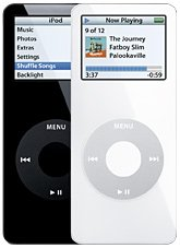 Refurbished iPod nano 4GB - Black