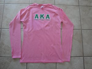 Alpha Kappa Alpha long sleeve t
