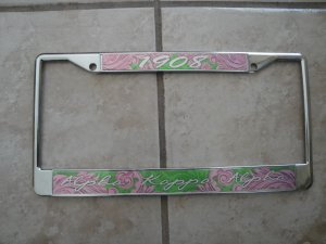 Alpha Kappa Alpha- license frame