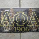 Alpha Phi Alpha-license tag
