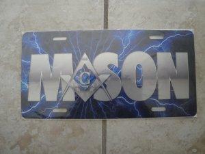 Mason -license tag