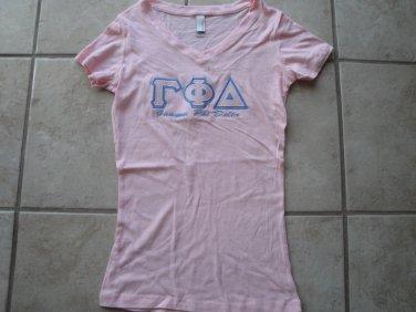 GPD applique v-neck shirt