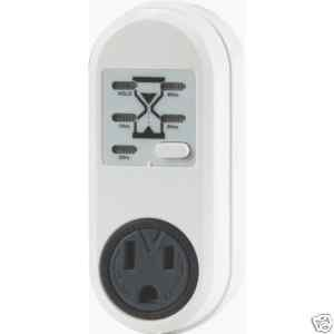 (Camcorder Charger Timer) power digital control off