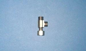 "Water supply tee valve adaptor dishwasher filter ice maker 3/8"" x 3/8"" x 3/8"""