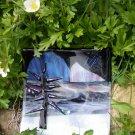 """Glass Art  - """"Alaska Spruce in Winter #1"""""""