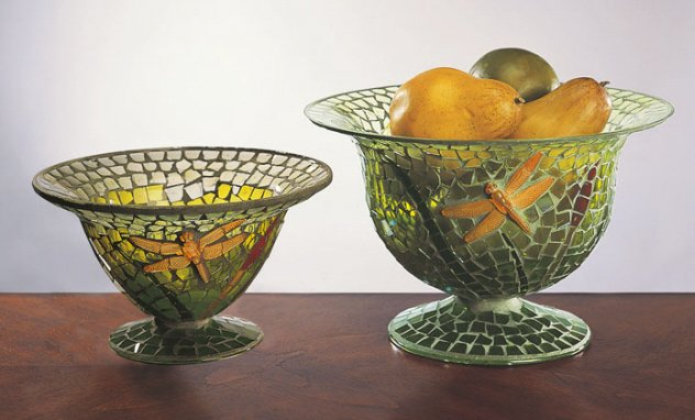 Nested Dragonfly Bowls