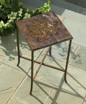 Red Leaf Table