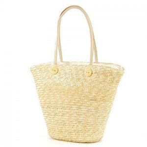 Apricot GARDEN COUNTRY STYLE Bag STRAW SHOULDERBAG HANDBAG TOTE