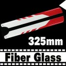 RC Helicopter Glass Fiber 325mm Blade for Align Trex 450 Free Shipping