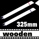 RC Helicopter Wooden 325mm White Blade for Trex 450  Free Shipping