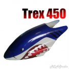 Trex 450 RC Helicopter Canopy Shark Design