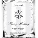Wintry Wedding-Single Snowflake