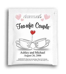 Tea-rific Couple-Kissing Cups