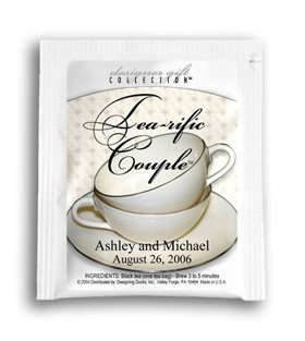 Tea-rific Couple-China Cups