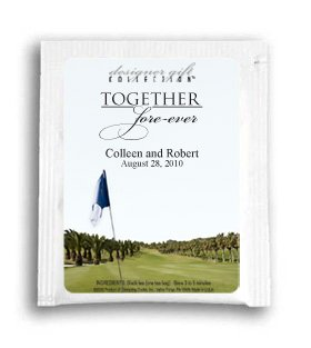 Together Fore-ever Golf Flag Fairway