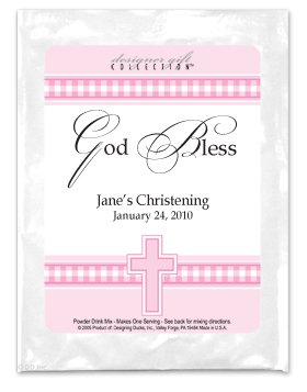 God Bless-Gingham-Pink