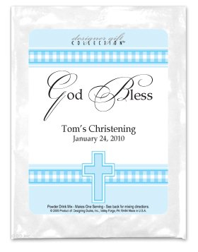 God Bless-Gingham-Blue
