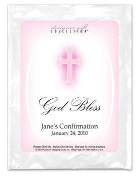 God Bless-Pink Cross