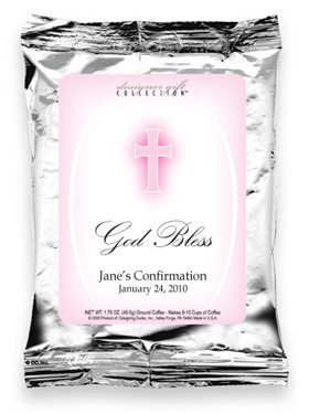 God Bless-Pink Cross