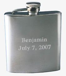 Stainless Steel 7 oz. High Polish Flask