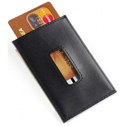 Leather Money Clip/Card Holder
