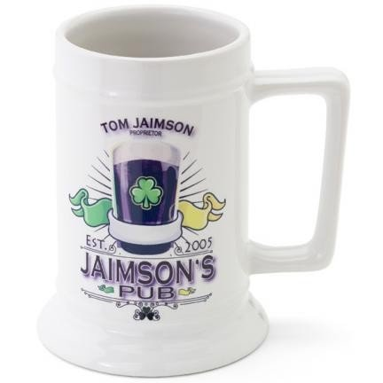 Personalized 16 oz. Beer Steins (20 Designs)