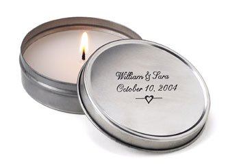 Tea Light Candle Wedding Favors