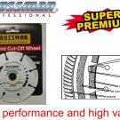 "CROSSMAN Silver 4"" Diamond Cutting Wheel Blade"