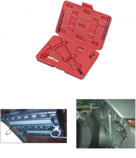 MERCEDES BENS DASHBOARD SERVICE TOOL KIT