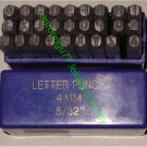 Die Stamping Set 27pcs 4mm LETTER