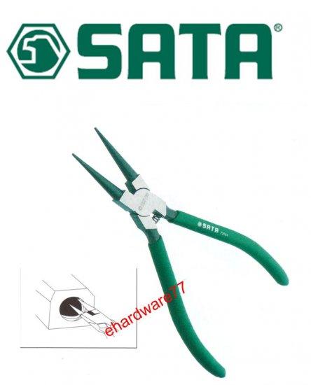 """SATA - 7"""" Snap Ring Pliers Internal Close 72004"""