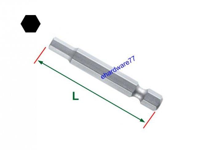 "1/4"" Shank Hex Bit 4mm x 100mmL"