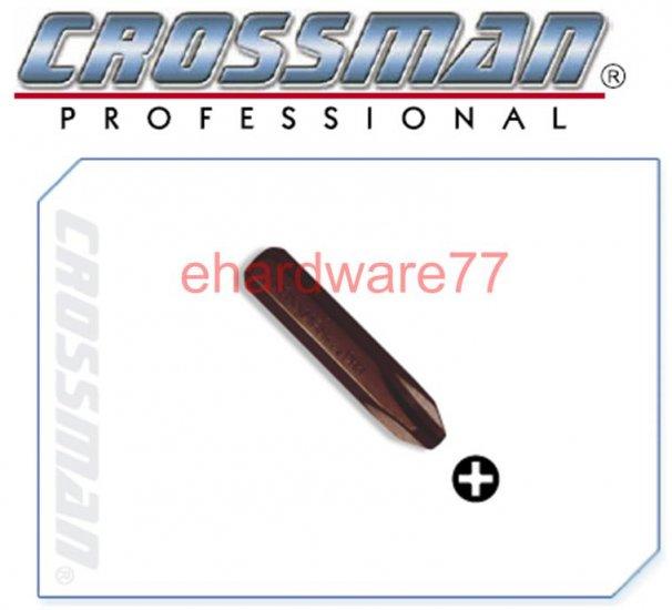 "CROSSMAN 5/16"" Hex Shank Impact Driver Bit PH2x36mmL"